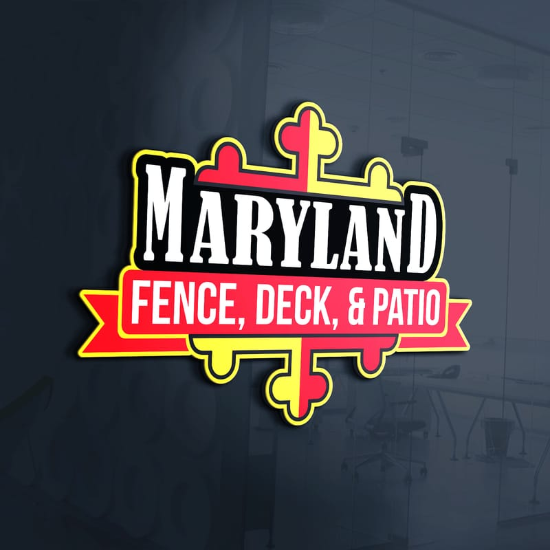 Maryland Fence, Deck, U0026 Patio Logo